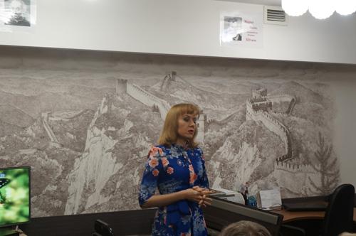 концерт-встреча Ольги Сапуновой с её творческим отчётом о работе по контракту в Китае