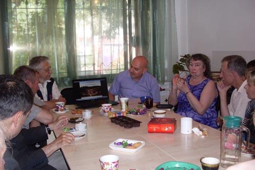 Встреча с итальянцами Катериной и Филиппо Петрароли